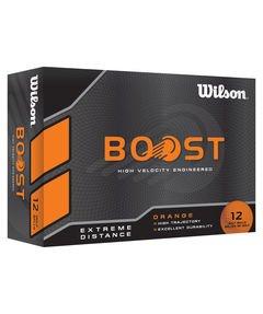 Golfbälle Wilson Boost Orange - 12 Stück