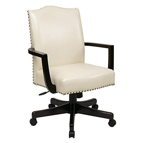 OSP Home Furnishings BP-MGTC-EC28 Morgan Managers Chair, Cream