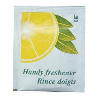 Tamaño pequeño para toallitas húmedas de mano a Lacoste - aroma a limón (1000 unidades