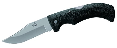 Fine Edge Clip (Gerber Gator Folding Knife, Fine Edge, Clip Point)