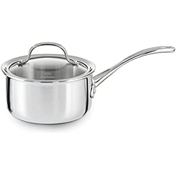 Amazon Com Calphalon Tri Ply Stainless Steel 1 1 2 Quart