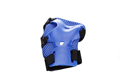 Kk 100 Children/Kids Cycling Inline & Roller Skating Knee Elbow Wrist Protective Pads Guards,Gift Pack of 6 Pcs
