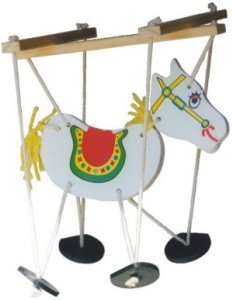 Horse Puppet Wood Craft Kit