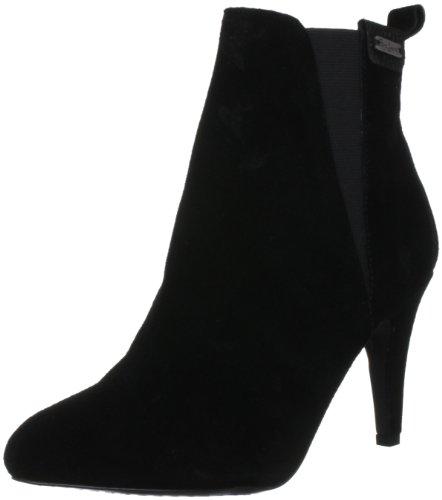 Pepe Jeans Hackney - botas de ante mujer negro - negro