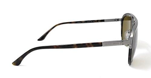 Hombre Grey Gafas Tortoise de para Armani 310873 Sol Marrón pWIvBwqgq