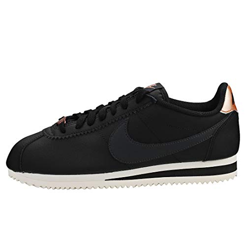 Red Cortez Gimnasia Classic Nike phantom Bronze 001 anthracite Mujer Negro Leather Wmns mtlc black Para Zapatillas De BqYB5OnwFx
