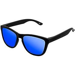Hawkers Carbon Black Sky One Gafas de Sol Unisex, color Negro