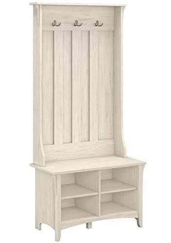Amazon.com: Eltta- Antique White Manufactured Wood with ...