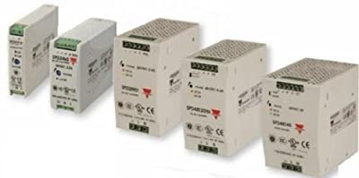 """Carlo Gavazzi, Inc. SPD24901L Power Supply; AC-DC; 24V@3.8A; 90-265V In; Enclosed; DIN Rail Mount; SP Series"""