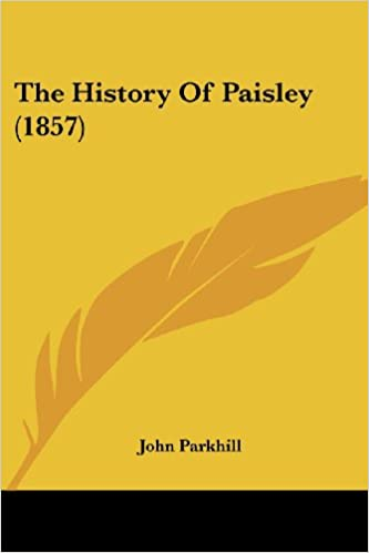 Book The History Of Paisley (1857)