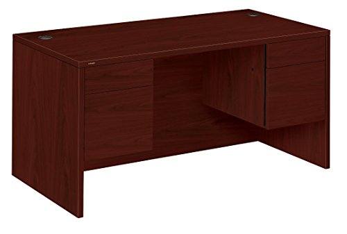 HON Double Pedestal Executive Mahogany product image