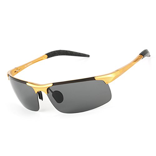 ODODOS Polarized Sports Sunglasses for Driving Cycling Baseball Running Fishing Superlight - Cycling Inserts Prescription Sunglasses With