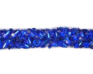 Acrylic Jewel Trim By Shine Trim - Royal Blue