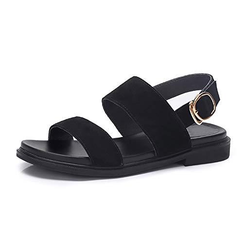 à Chaussures Lpymx confortable femmes C pour en suède avec daim boucle décontracté talon wgvfwq
