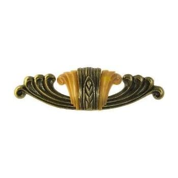 WF-101 Long Waterfall Drawer Pull Antique Reproduction ...