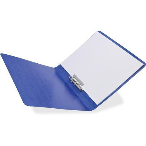 42523 Acco Presstex Side Bound Grip Binder - 0.62quot; Folder Capacity - Letter - 8.50quot; Width x 11quot; Length Sheet Size - 125 Sheet Capacity - Presstex - Dark Blue - 1 Each