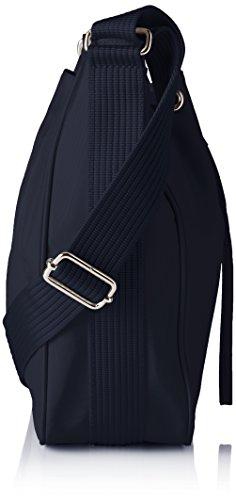 Bogner Damen Tinra Umhängetasche, 9.5x29x24 cm Blau (Navy)