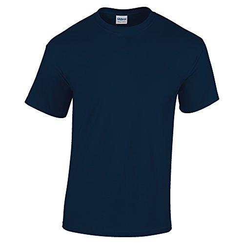 (Gildan Mens Heavy Cotton Short Sleeve T-Shirt (4XL) (Navy))