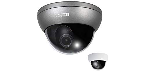 50mm Varifocal Auto Iris - SPECO HT7250T Dome Camera, HD-TVI, WDR, Day/Night, 1920 x 1080 Resolution, Auto Iris Varifocal 5 to 50 MM Lens, 24 Volt AC/12 Volt DC, with Chameleon Cover
