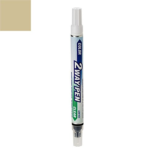 ExpressPaint 2WayPen Toyota Prius Automotive Touch-up Paint - Driftwood Pearl Clearcoat 4S2 - Color + Clearcoat Only