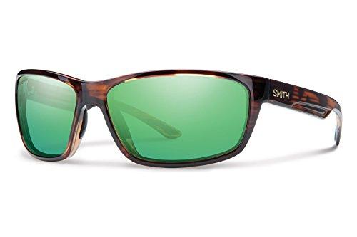 Smith Redmond Techlite Glass Sunglasses, Tortoise, Green Mirror - Glass Sunglasses Smith