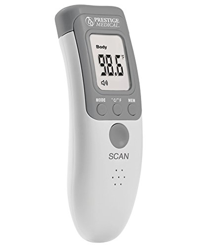 Prestige Medical Infrared Forehead Thermometer, 1.25 Ounce