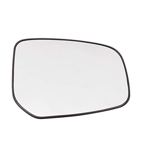 Drivers Side Mirror Glass & Base Left Replacement for 14-18 Mitsubishi Mirage 17-18 Mirage G4 4620 7632B599