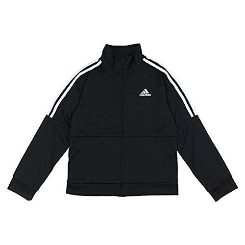 adidas Boys Youth Iconic Track Jacket (Black, M-10/12)