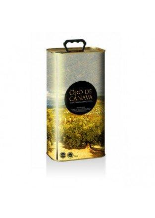 Oro de Cánava. Aceite de oliva picual, Caja de 4 latas de 3 L: Amazon.es: Alimentación y bebidas