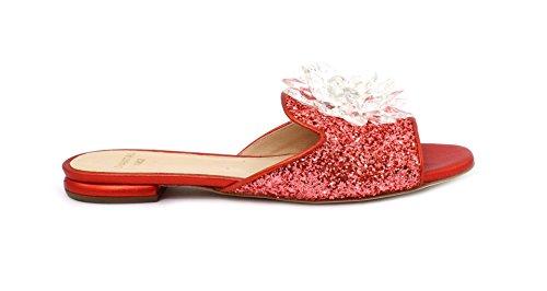 Colore Slipper Chantal 632 39 Glitter Corallo Taglia Rosso YURnq1U