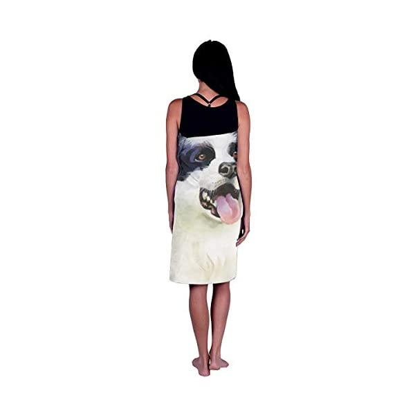 LIDHYER Border Collie Sticking Tongue Bathroom Towels Men & Women Large Bath Towel 31.5 X 51.5 Inch - Microfiber - Highly Absorbent - for Bath, Swimming, Fitness, Yoga, Pool, Beach Towels 3