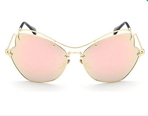 Sol Plegables La Gafas A2 De Manera De Sol Huecas Doble Sol Doblan Que Gafas Ojo A3 De Del Del Haz De Gafas Las Piernas Gato De OxnwU