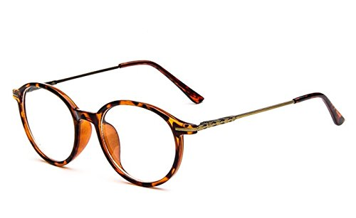 Flowertree Unisex S9365 Plastic Frame Thin Arm Oval 48mm Eyeglasses Small Size - Small Wayfarer Size