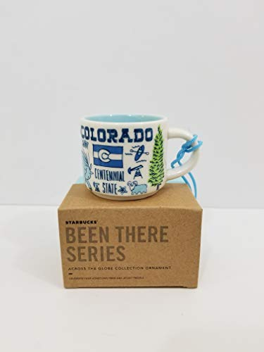 (Colorado Starbucks Been There Series 2 Oz Ornament Espresso Mug/Cup)