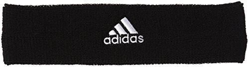 TENNIS HEADBAND, Black, One Size