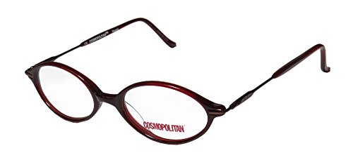 Cosmopolitan Racey Womens/Ladies Designer Full-rim Flexible Hinges Eyeglasses/Eyewear (47-16-135, - Frames Cosmopolitan