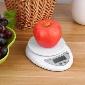 GuanHeag Home - Báscula Digital para Cocina, 5 kg, LCD