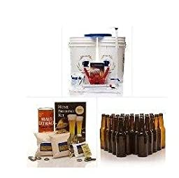Learn To Brew New Brewers Complete Homebrew Beer Making Kit