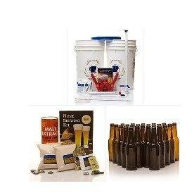 Learn To Brew New Brewers Complete Homebrew Beer Making Kit by Learn To Brew LLC