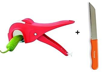 buycrafty Multi verduras cortar (5 hojas, 45 mm) pelador de ...