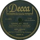 Bing Crosby: Swinging on a Star / Going My Way 78 RPM Vinyl