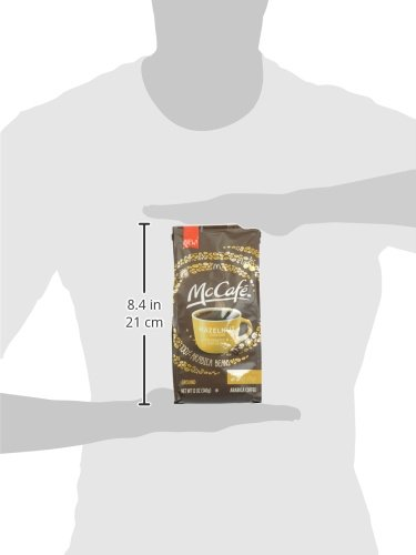 McCafe Coffee Hazelnut Ground Coffee, Light Roast, 12 Ounce