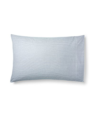 - NEW RALPH LAUREN WESTLAKE LIGHT GREY WHITE 2 KING PILLOWCASES