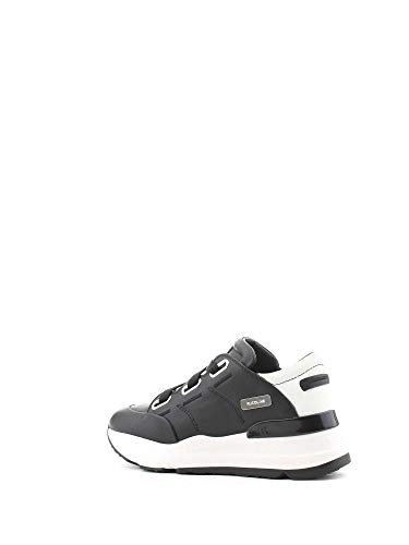 Line nera Woman Sneakers 403820743nero in pelle Ruco HndqvaYwH