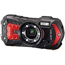 Ricoh WG-60 Waterproof Digital Camera, 2.7″ LCD (WG-60 Red)