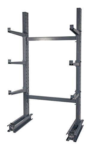 Rack Meco (Meco Omaha SU8 Series 4000 Heavy Duty Single Sided Cantilever Rack Starter Unit, 96