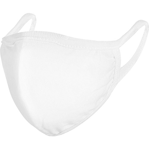 Pangda 4 Pack Anti-dust Cotton Mouth Face Masks Mouth Cover for Man and Woman (White)