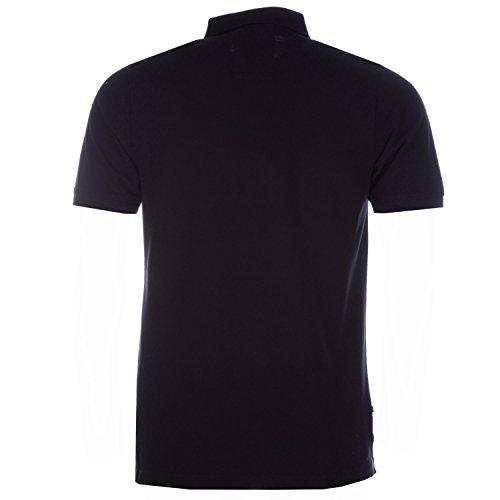 Luke 1977 Herren Poloshirt schwarz schwarz