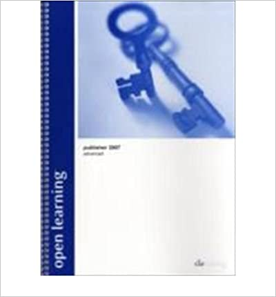 Genèse de la bibliothèque [(Open Learning Guide for Publisher 2007 Advanced)] [ CiA Training Ltd ] [February, 2008] PDF FB2
