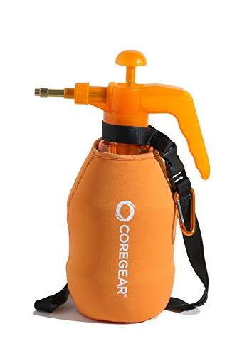 - COREGEAR (Ultra Cool XL USA Misters 1.5 Liter Personal Pump Water Mister & Sprayer with Full Neoprene Jacket (Orange)